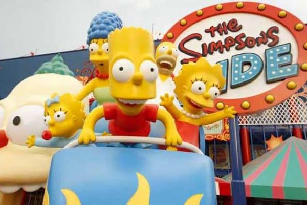 Alla scoperta del parco giochi dedicato ai Simpson!