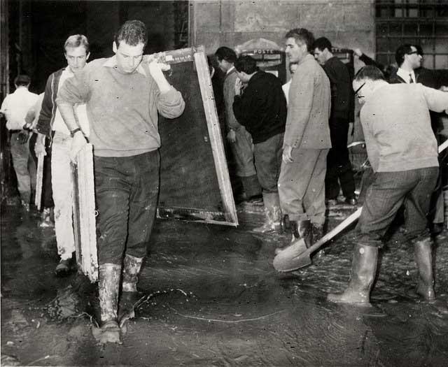 4 novembre 1966: Firenze devastata dall'alluvione