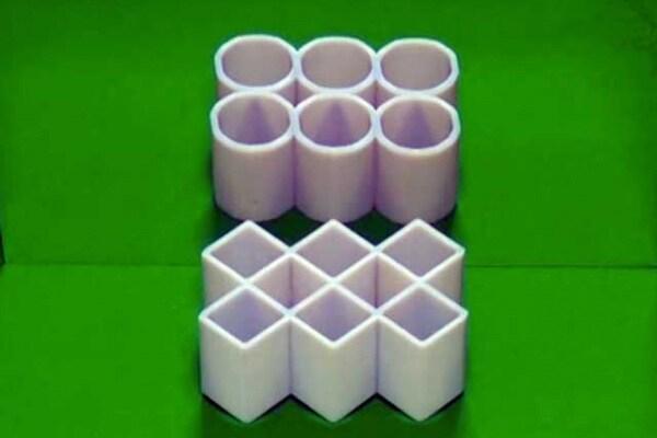 Una strabiliante illusione ottica | Scopri gli ambigui cilindri!