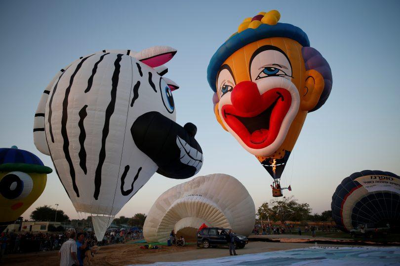 Il festival delle mongolfiere (FOTO)
