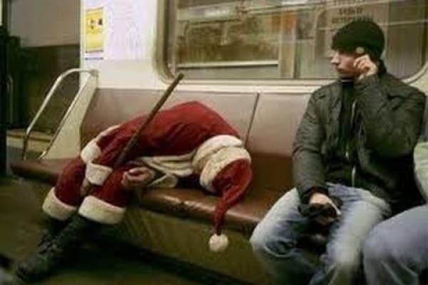 Persone strane e divertenti sui mezzi pubblici