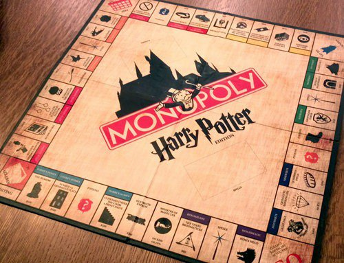 Il monopoly degli incantesimi di Harry Potter