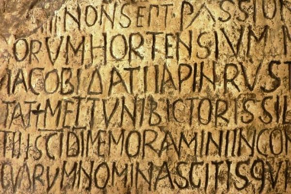 """Come scrivevano gli antichi romani? Con il """"tablet"""""""