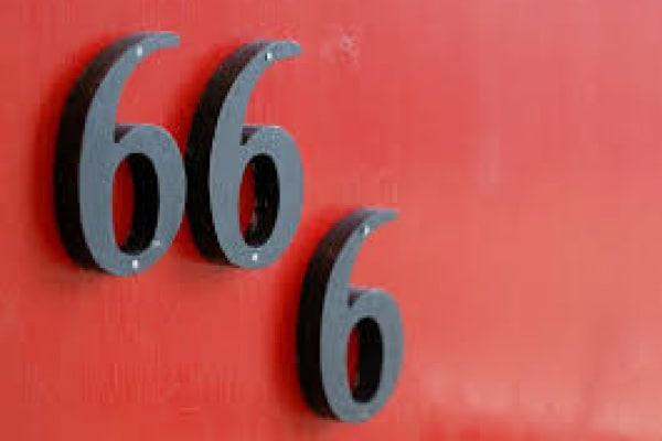 Perché 666 è il numero del diavolo?