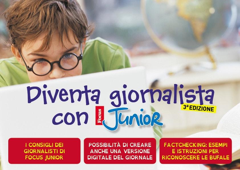 Progetto scuola Diventa giornalista 2018. Scarica il kit