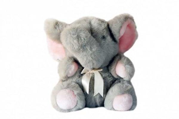 Ele, l'elefante-robot di peluche che aiuta i bambini