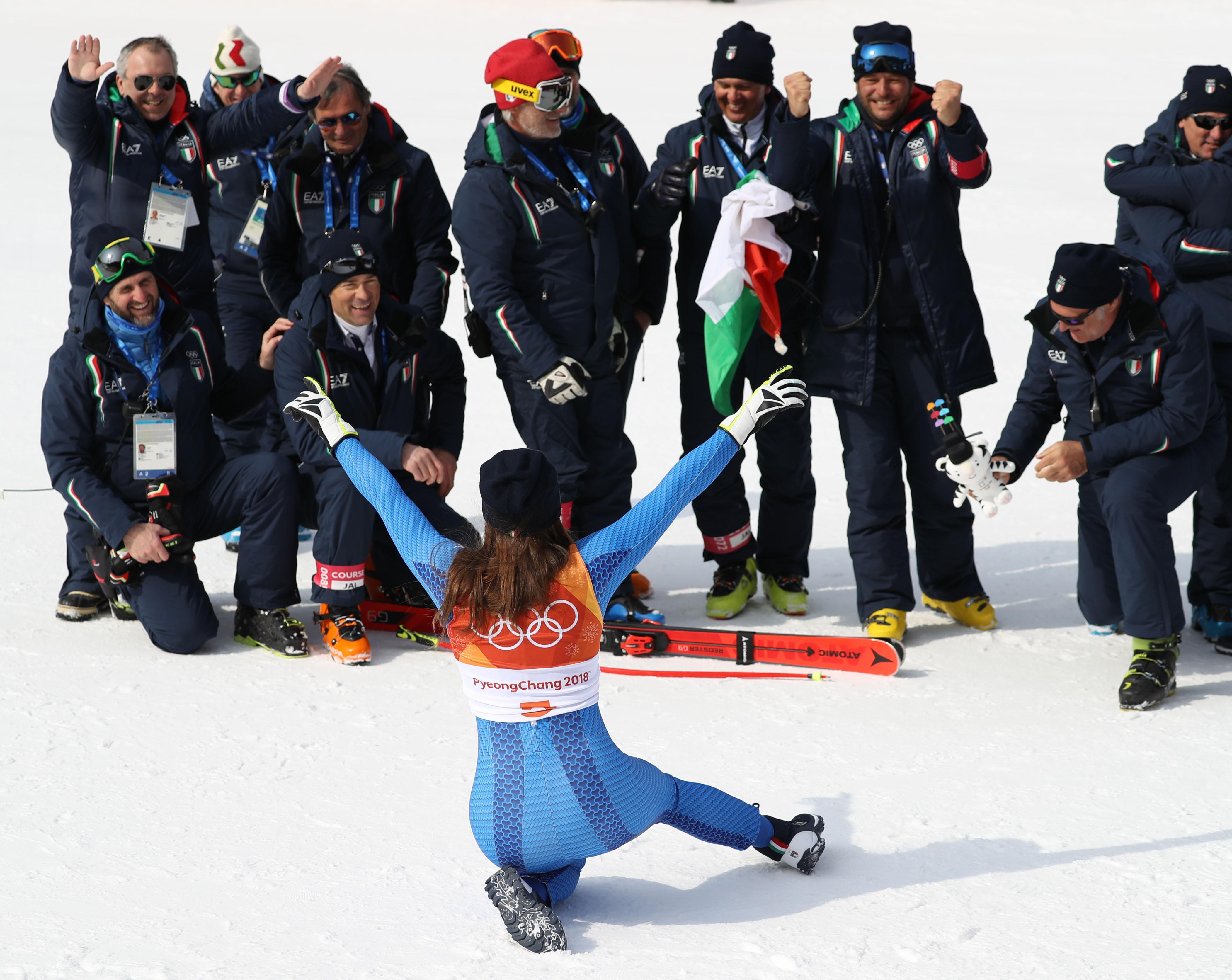 Le foto più belle della sciatrice Sofia Goggia, oro alle Olimpiadi / Image 19