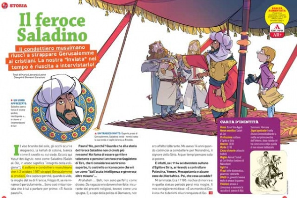 Il feroce Saladino è in arrivo!