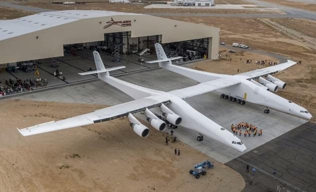 Stratolaunch sarà l'aereo più grande del mondo!