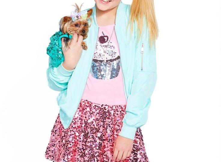 JoJo Siwa copia il look