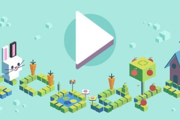 Il gioco del coniglio: Google dedica il suo doodle ai linguaggi di programmazione per bambini