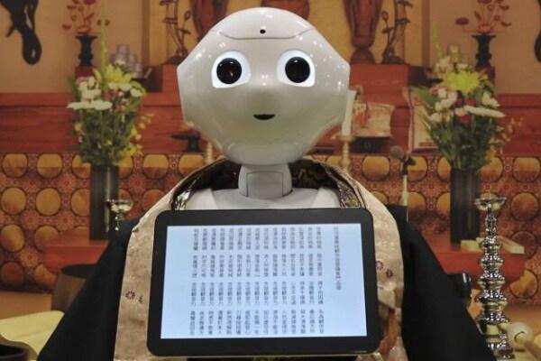 Pepper il monaco robot
