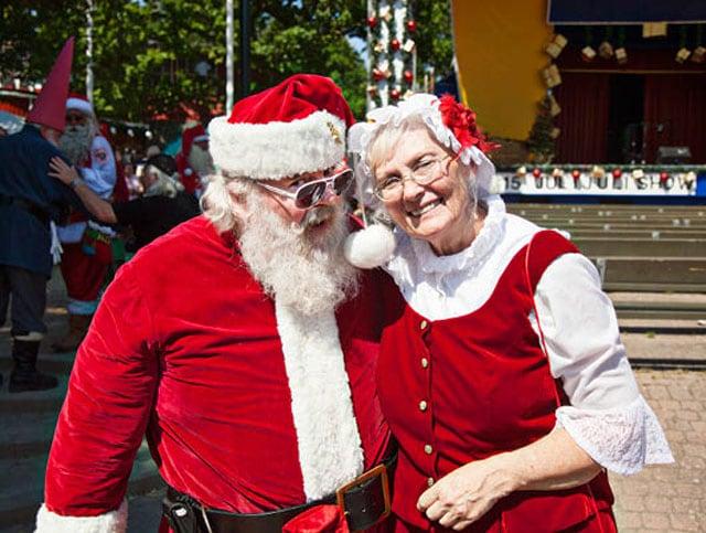Cosa fa a luglio Babbo Natale? È in vacanza a Copenaghen!