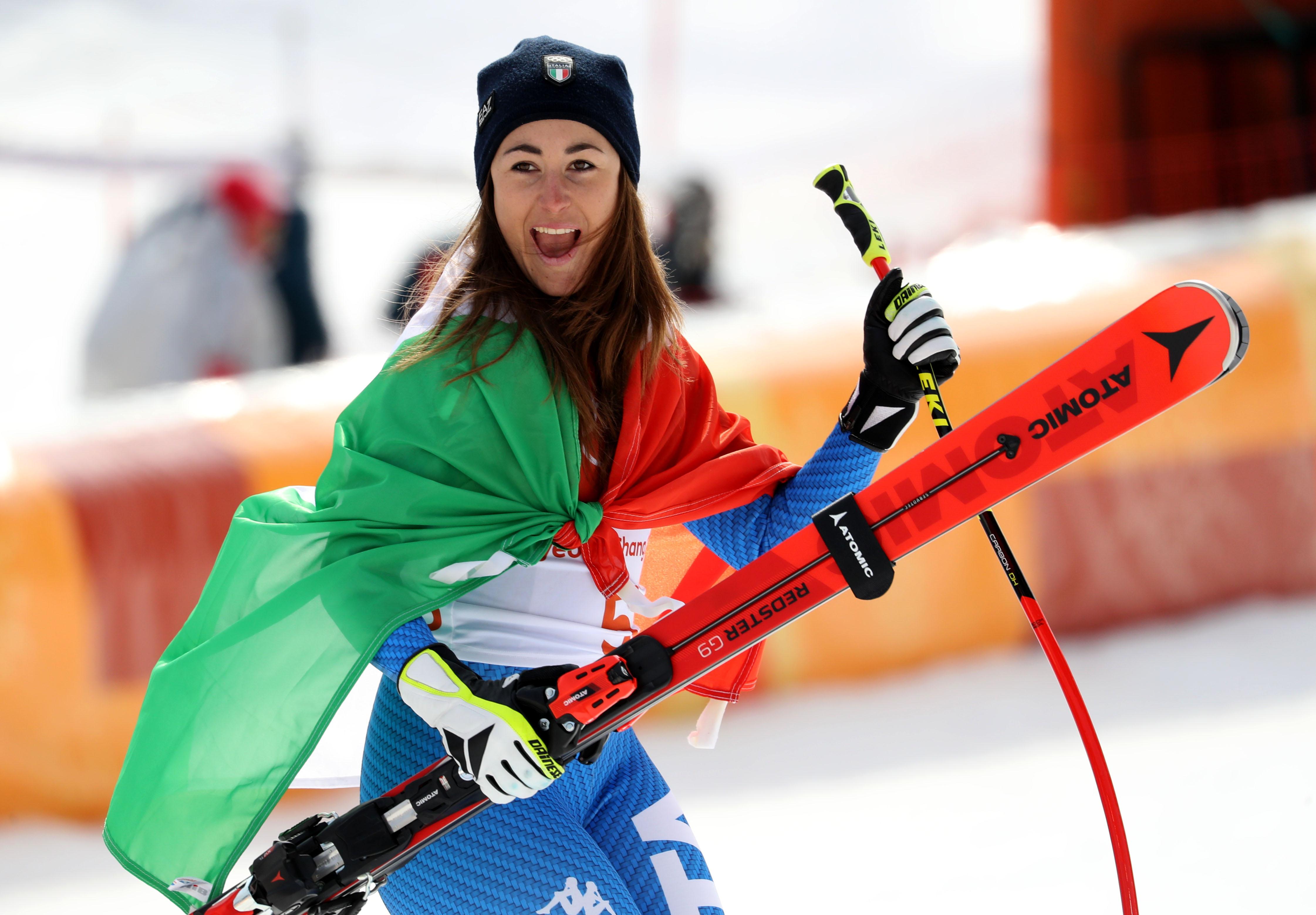 Le foto più belle della sciatrice Sofia Goggia, oro alle Olimpiadi / Image 21