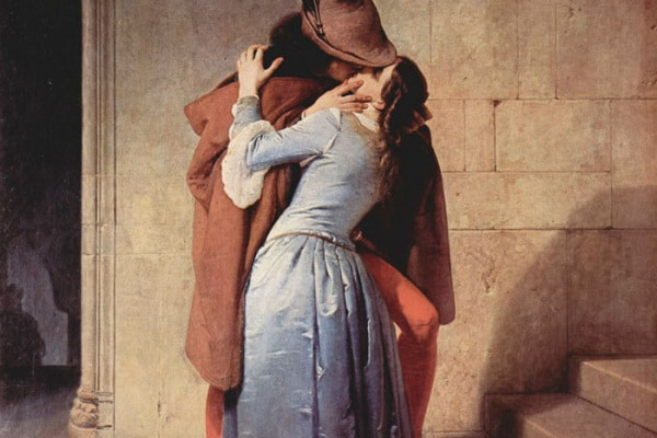La giornata internazionale del bacio, nell'arte