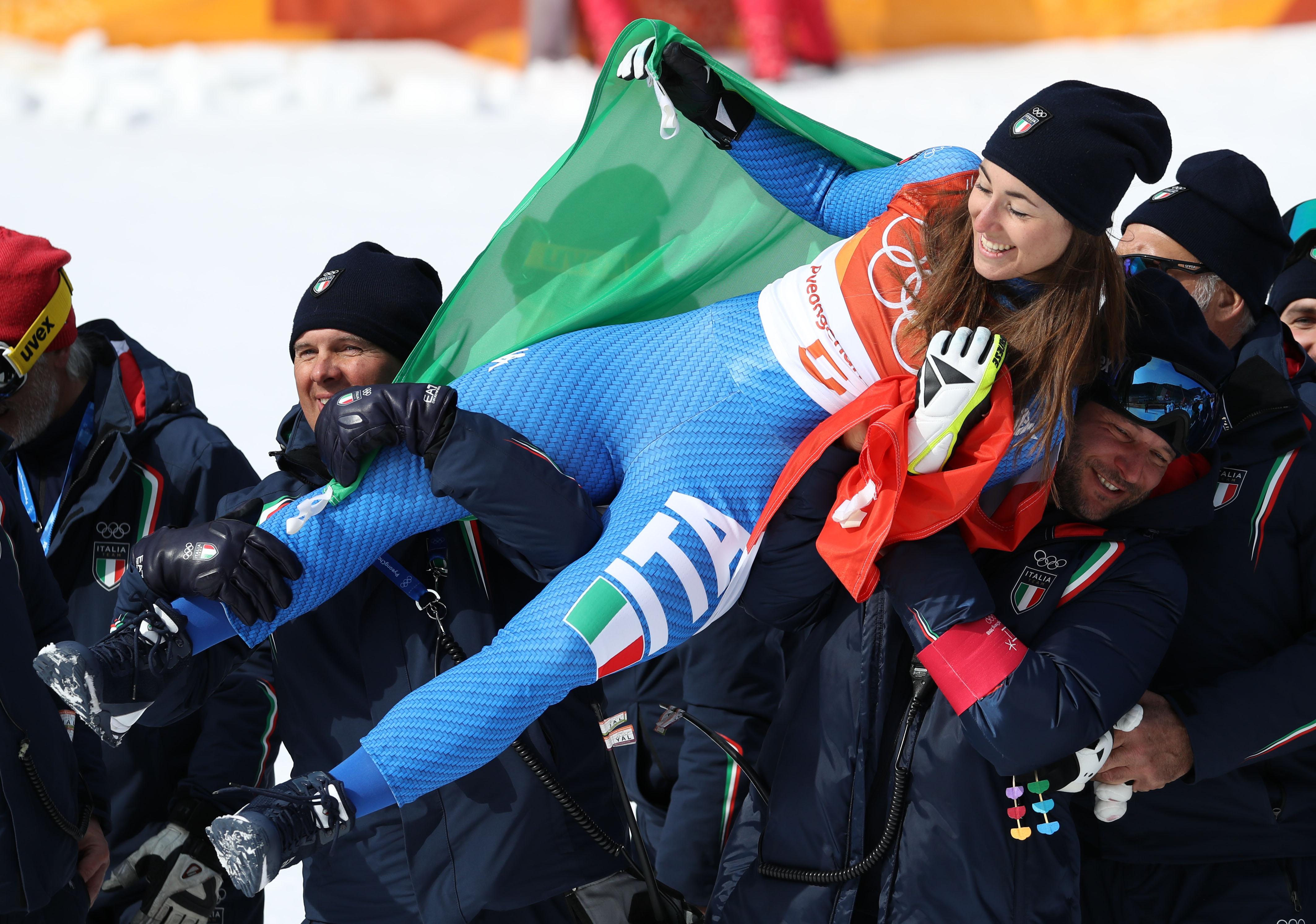 Le foto più belle della sciatrice Sofia Goggia, oro alle Olimpiadi / Image 22