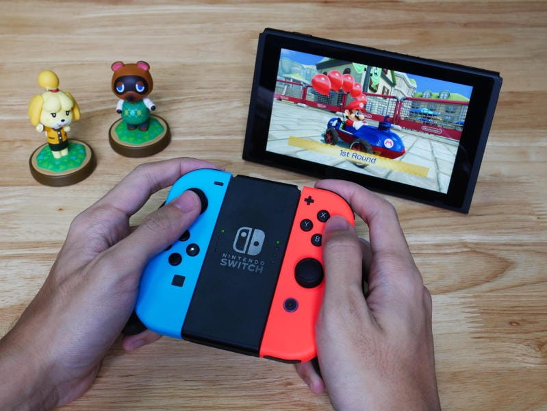 Nintendo Switch, console dell'estate