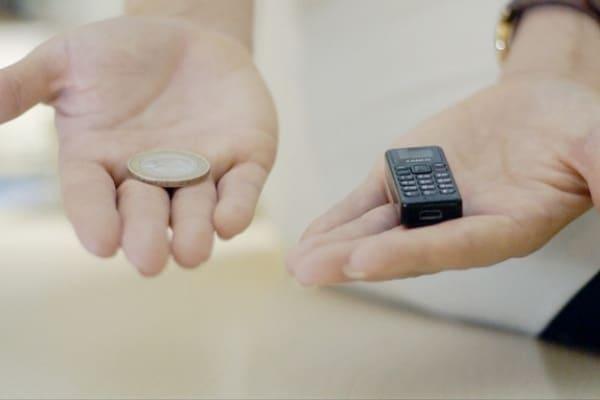 Zanco: il telefonino più piccolo del mondo