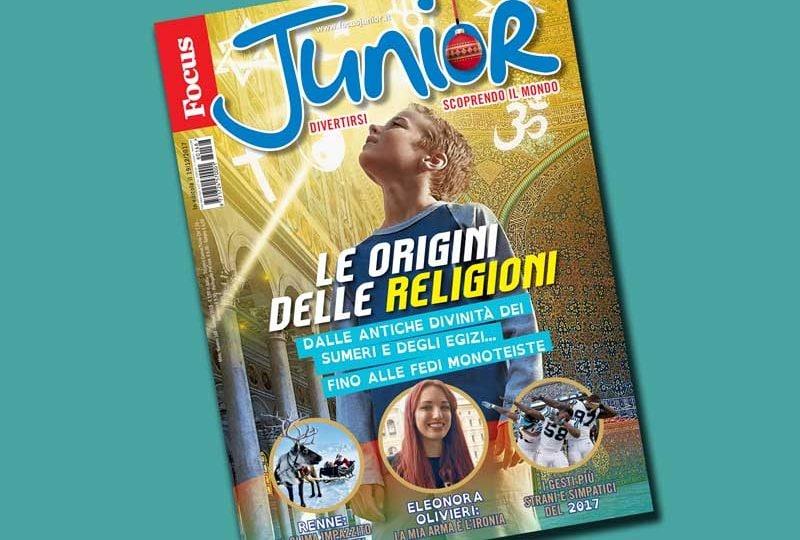 IN ESCLUSIVA PER VOI FOCUSINI ECCO GLI EXTRA DI FOCUS JUNIOR N. 168!