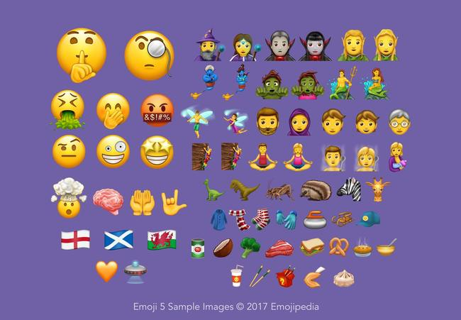Emoji 2017 | Le novità!
