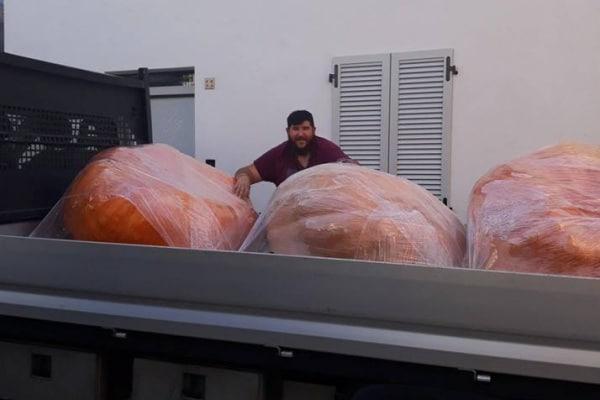 La sagra delle zucche giganti in attesa di Halloween