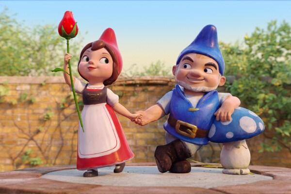 Sherlock Gnomes: chi ha rapito i nani da giardino?