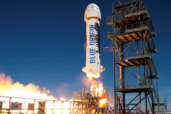 Blue Origin | L'anno prossimo diventeremo turisti dello spazio