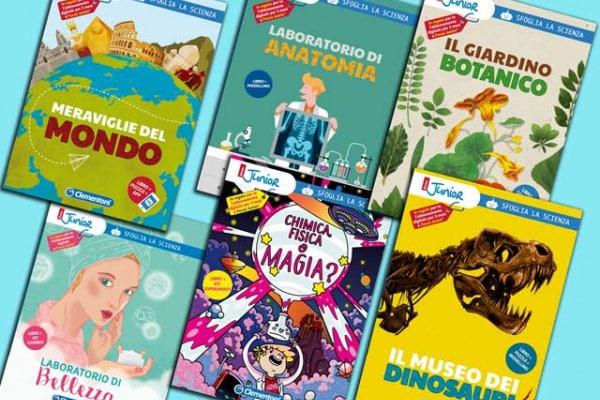 Clementoni & Focus Junior | I libri per giocare e imparare