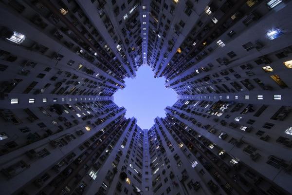I grattacieli visti dal basso: foto incredibili