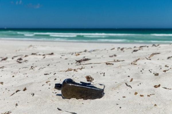 Il messaggio in bottiglia più antico di tutti è stato scoperto in Australia