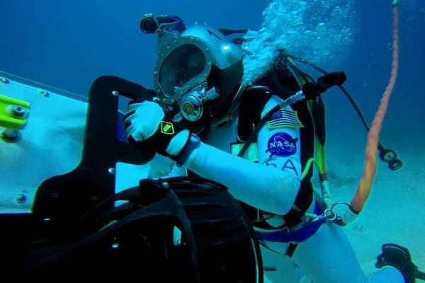 Vuoi fare l'astronauta? Prima devi andare… sott'acqua!