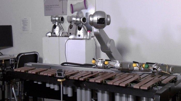 Shimon, il robot compositore