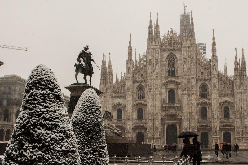 12 suggestive immagini di luoghi innevati in Italia / Image 5