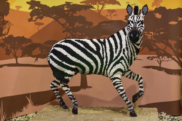 Animali di Lego: un vero zoo fatto di mattoncini colorati!