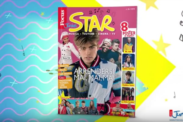 Il nuovo Focus Junior Star è in edicola! (VIDEO)