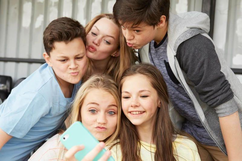 La storia dei selfie