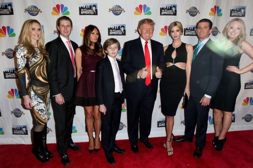 Fidget spinner: ha contagiato anche Barron Trump