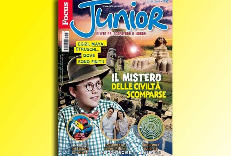 IN ESCLUSIVA PER VOI FOCUSINI ECCO GLI EXTRA DI FOCUS JUNIOR N. 164!