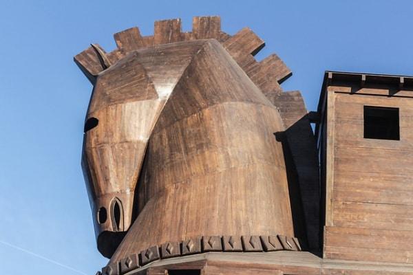 Il cavallo di Troia? In realtà era una nave!