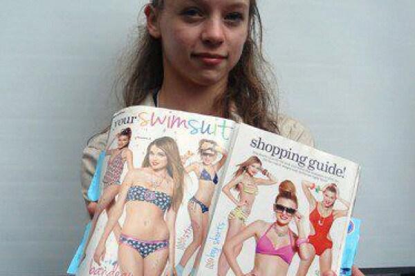 Julia Bluhm: 50 mila firme contro Photoshop!