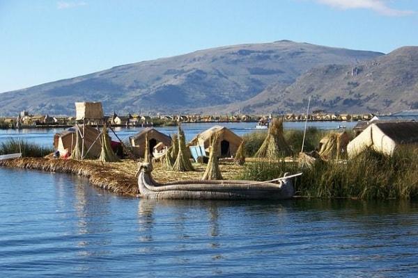 Uros lago Titicaca, Perù