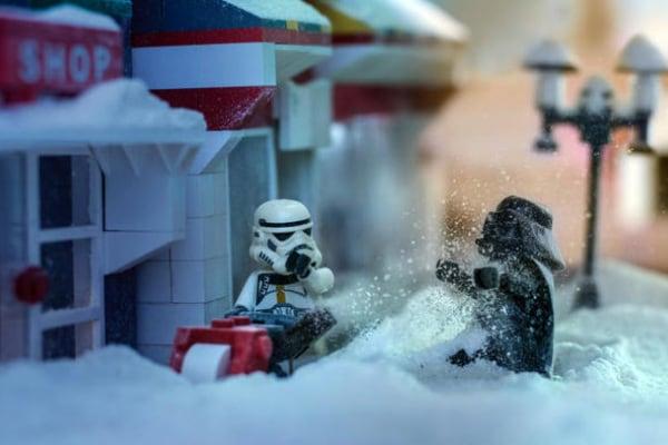 Natale con Star Wars Lego!