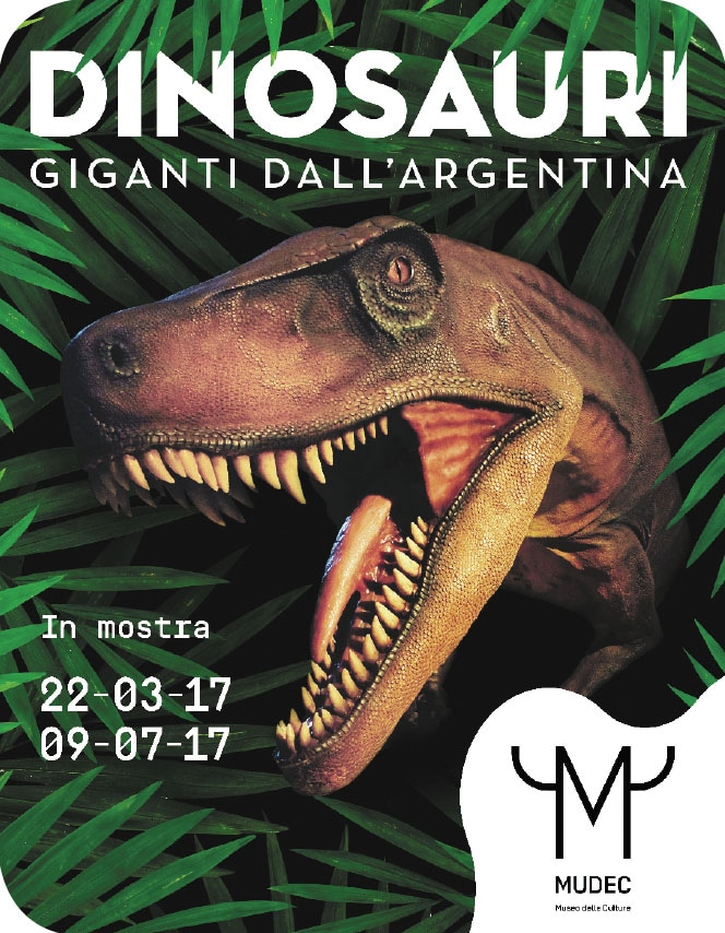 Megadinosauri in mostra al Mudec di Milano