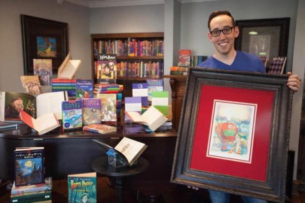 Passioni | Peter Kenneth è il più grande collezionista di Harry Potter al mondo!