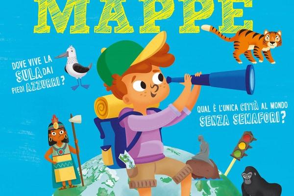Il libro delle mappe: alza e scopri il mondo