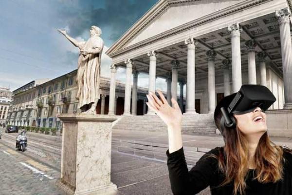 La realtà virtuale ti fa provare la macchina del tempo