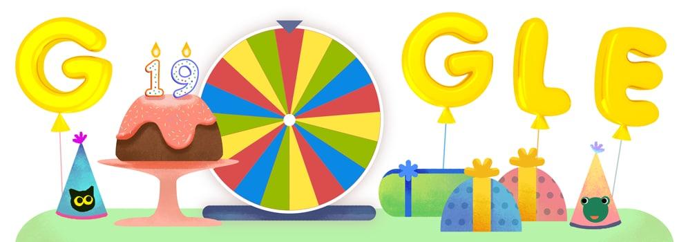 Google compie 19 anni, auguri!