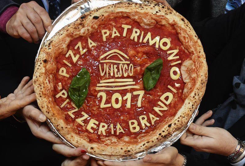 La pizza è patrimonio dell'Unesco