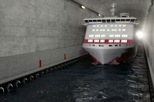 La Norvegia costruirà il primo tunnel anti-tempesta per le navi