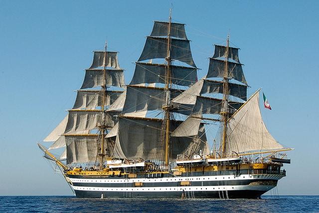 L' Amerigo Vespucci, la nave più bella al mondo!